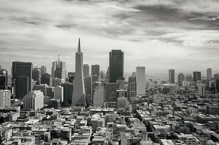 San Francisco as Seen from Coit Tower | LEICA X1 ELMARIT 24MM F/2.8 ASPH <br> Click image for more details, Click <b>X</b> on top right of image to close