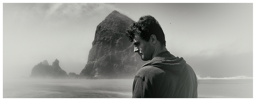 A Portrait at Cannon Beach | LEICA X1 ELMARIT 24MM F/2.8 ASPH <br> Click image for more details, Click <b>X</b> on top right of image to close