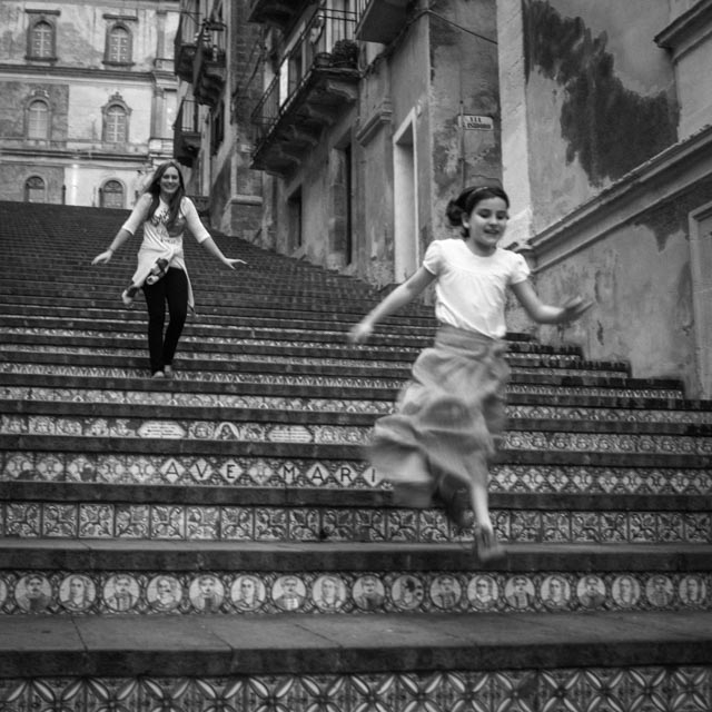 leicaimages.com gallery | Flight of Stairs, Caltagirone, Sicily | X1 Elmarit 24mm f/2.8 ASPH | X1