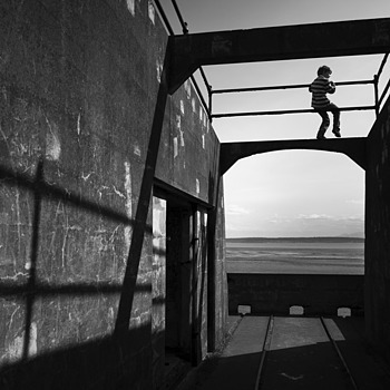 Fort Casey silhouette | LENS MODEL NOT SET