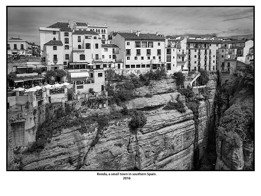 Ronda, a small town in southern Spain. | LEICA ELMAR 24MM F3.8 ASPH <br> Click image for more details, Click <b>X</b> on top right of image to close