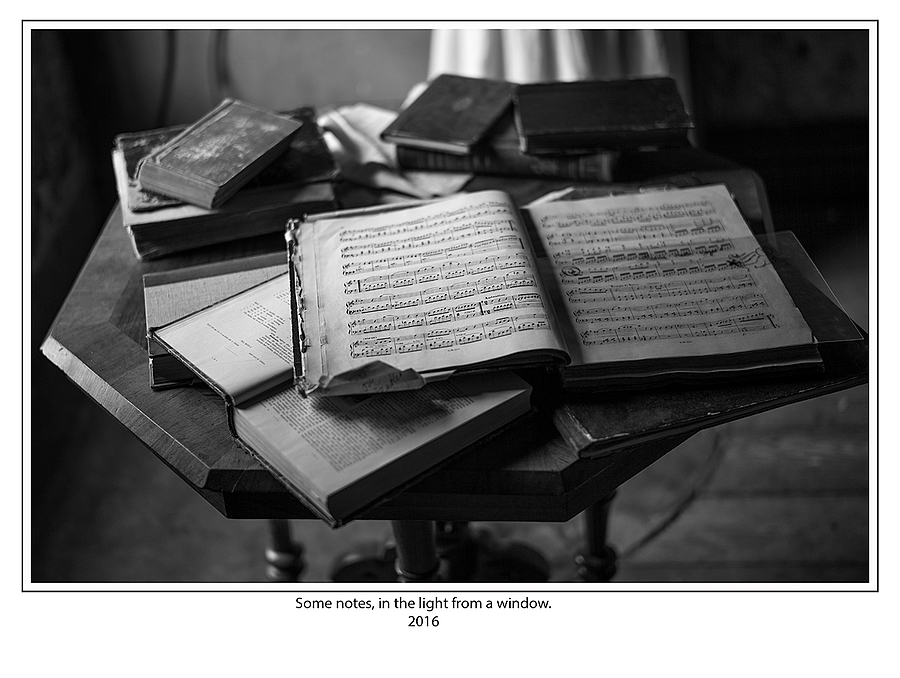 leicaimages.com gallery | Some notes, in the light from a window. | Leica SUMMILUX 50mm f1.4 ASPH | M (TYPE 240)