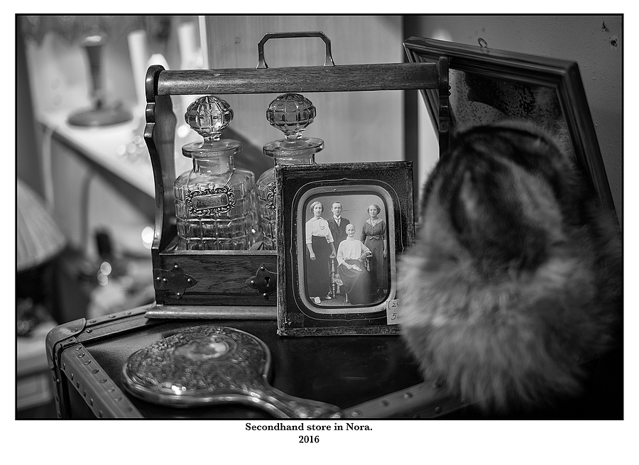 Secondhand store in Nora. | SUMMILUX-M 1:1.4/50 ASPH <br> Click image for more details, Click <b>X</b> on top right of image to close