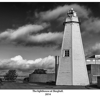 The lighthouse at Skoghall. | LEICA SUMMICRON 50MM F2 <br> Click image for more details, Click <b>X</b> on top right of image to close