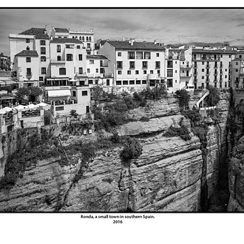Ronda, a small town in southern Spain. | LEICA ELMAR 24MM F3.8 ASPH