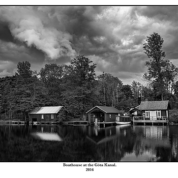 Boathouse at the Göta Kanal. | LEICA SUMMICRON 35MM F2 ASPH <br> Click image for more details, Click <b>X</b> on top right of image to close