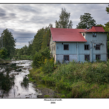 Abandoned mill. | LEICA SUMMICRON 35MM F2 ASPH <br> Click image for more details, Click <b>X</b> on top right of image to close