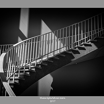 Window lights fall over stairs. | SUMMILUX-M 1:1.4/50 ASPH <br> Click image for more details, Click <b>X</b> on top right of image to close