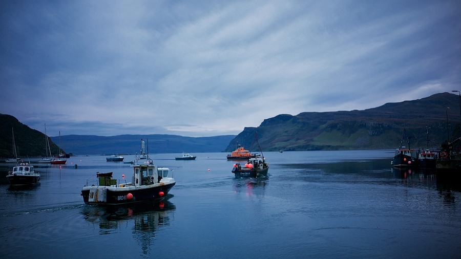 Portree, Isle of Skye | LEICA SUMMILUX 35MM F1.4 ASPH <br> Click image for more details, Click <b>X</b> on top right of image to close