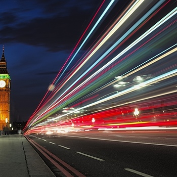 Light Trails to the Big Ben | LEICA 35MM F/1.4 SUMMILUX