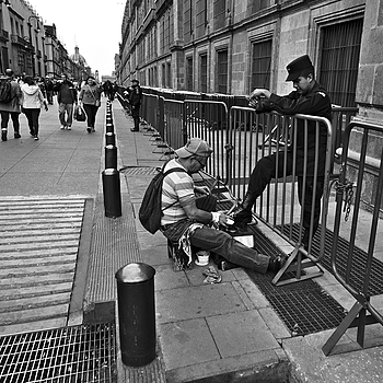 Shoe Shine | LEICA 21MM SUPER-ELMAR-M F/ 3.4 ASPH LENS <br> Click image for more details, Click <b>X</b> on top right of image to close