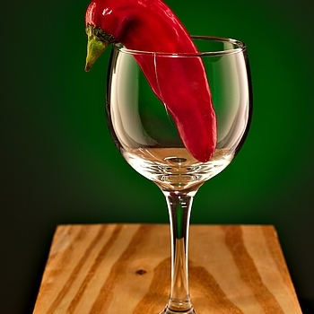 Pepper in Wine Glass | APO-SUMMICRON-M 75MM F/2 ASPH <br> Click image for more details, Click <b>X</b> on top right of image to close