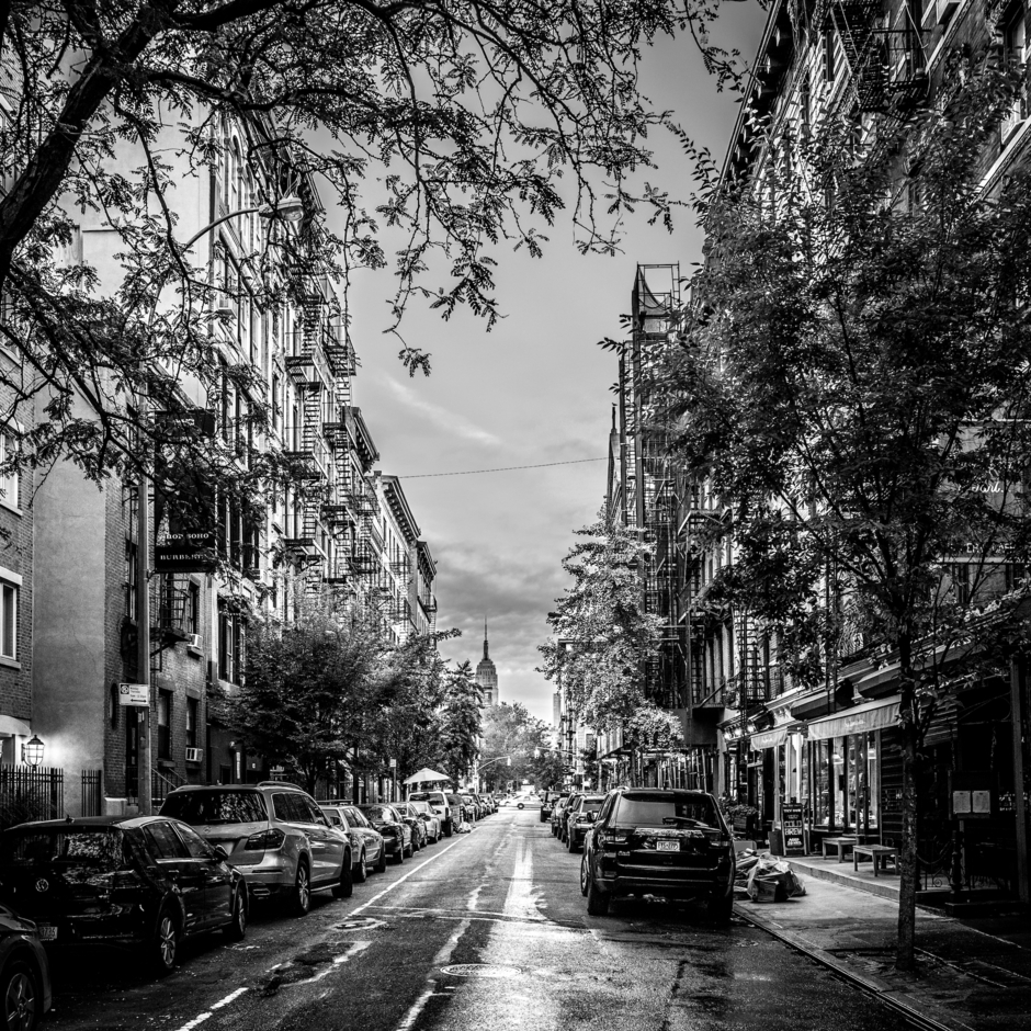 Soho, NYC, early morning in autumn | LEICA 28MM SUMMILUX F1.7 AF <br> Click image for more details, Click <b>X</b> on top right of image to close