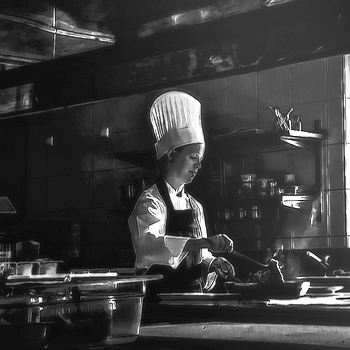 cocinera | LEICA NOCTILUX 50MM F1 <br> Click image for more details, Click <b>X</b> on top right of image to close
