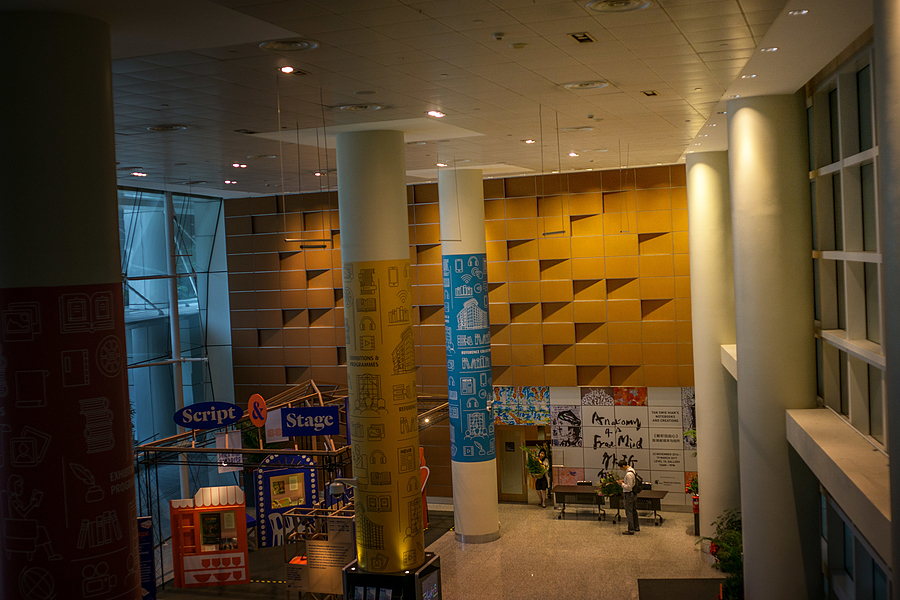 leicaimages.com gallery | The National Library lobby | Leica ELMARIT 28mm f2.8 | ILCE-6000