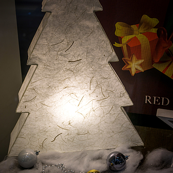 Xmas tree at the Red Army Watch