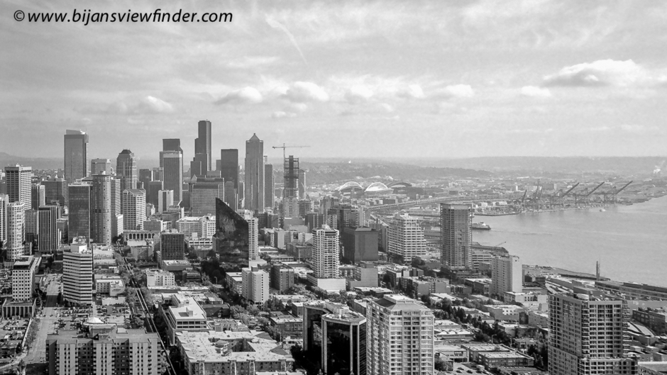 View of Seattle From the Needle | LEICA SUMMICRON 35MM F2 ASPH <br> Click image for more details, Click <b>X</b> on top right of image to close