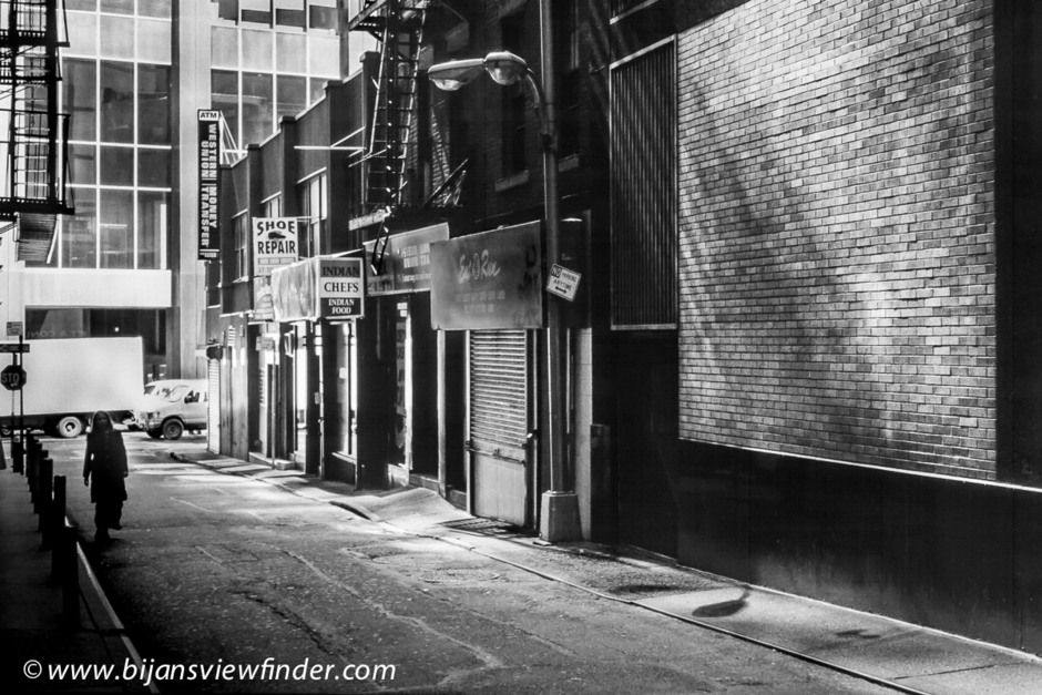 Quiet Back Street in NYC | LEICA ELMAR 50MM F2.8 <br> Click image for more details, Click <b>X</b> on top right of image to close