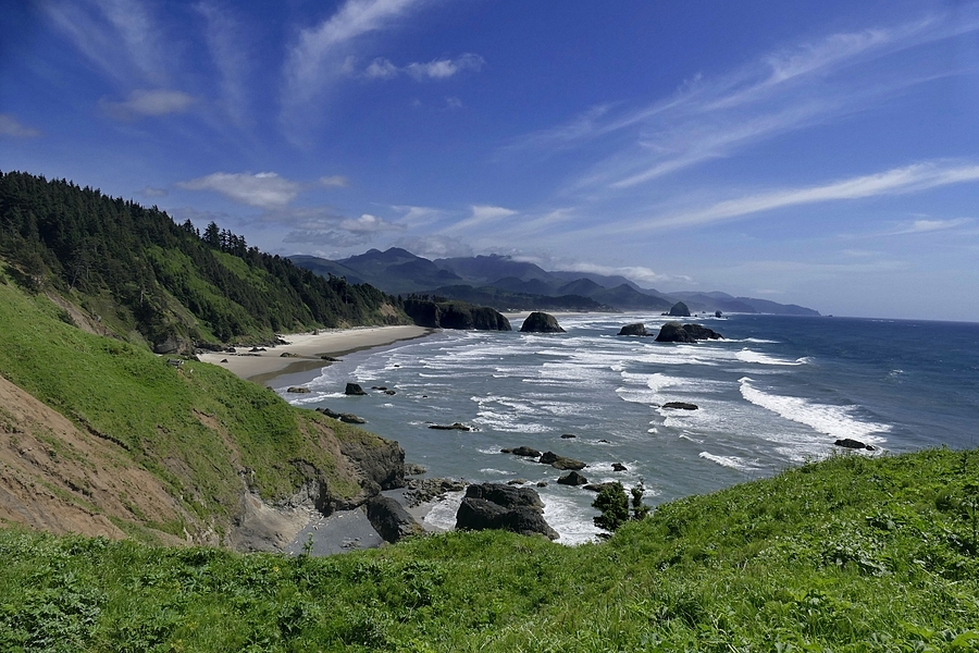 View From Ecola State Park, Oregon | LENS MODEL NOT SET <br> Click image for more details, Click <b>X</b> on top right of image to close