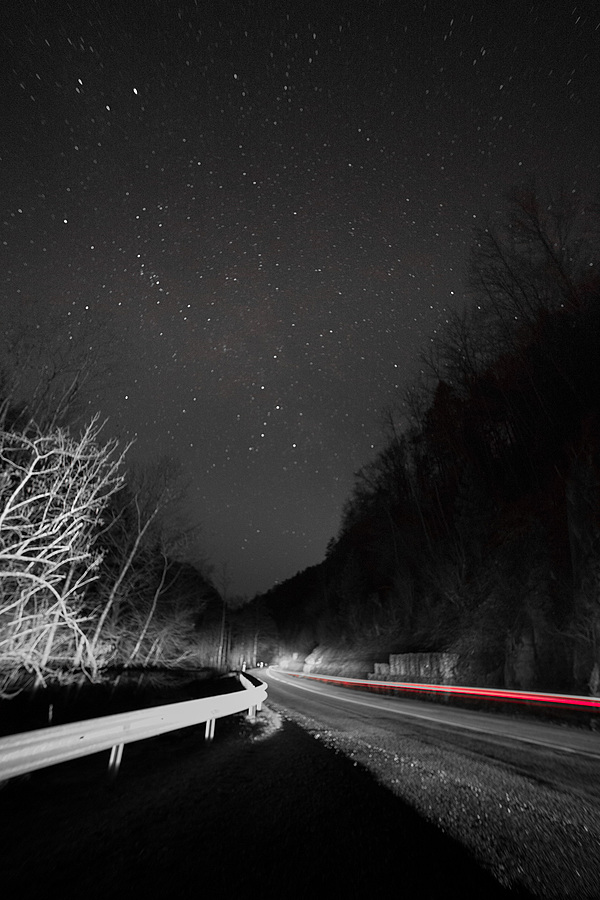 Driving home under a starry sky | LEICA 15MM F/3.5 SUPER ELMAR 1980 (CARL ZEISS DESIGN) <br> Click image for more details, Click <b>X</b> on top right of image to close