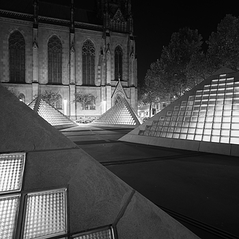 Pyramids of Basel | LEICA 15MM F/3.5 SUPER ELMAR 1980 (CARL ZEISS DESIGN) <br> Click image for more details, Click <b>X</b> on top right of image to close