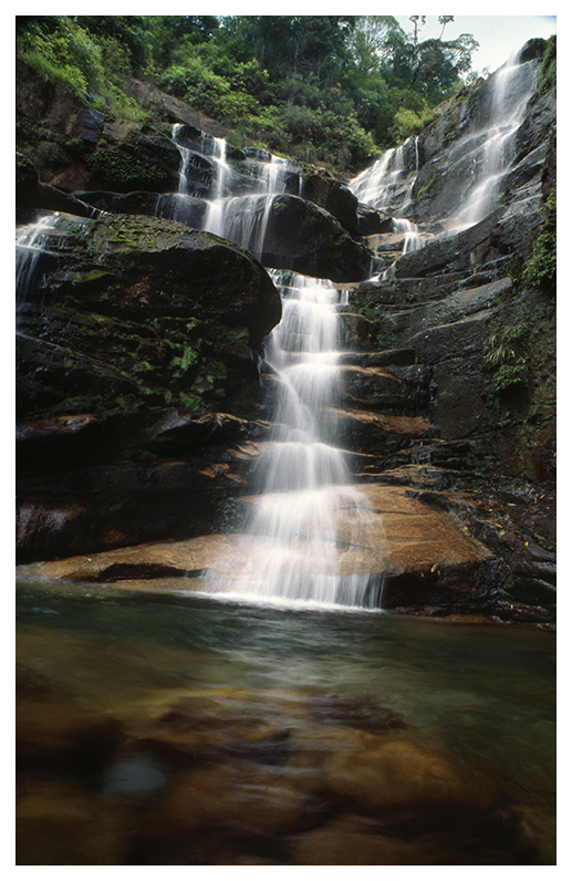 Wuxi Mountain Water Falls, Northern Fujian Province, China - Leica R7 (Velvia 100) | LEICA 24MM F2.8 ELMARIT (GERMANY) <br> Click image for more details, Click <b>X</b> on top right of image to close