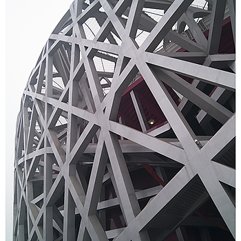 Beijing Olympic 2008 - National Stadium (Bird's Nest) | LEICA TRI-ELMAR 16-18-21MM F4 ASPH <br> Click image for more details, Click <b>X</b> on top right of image to close