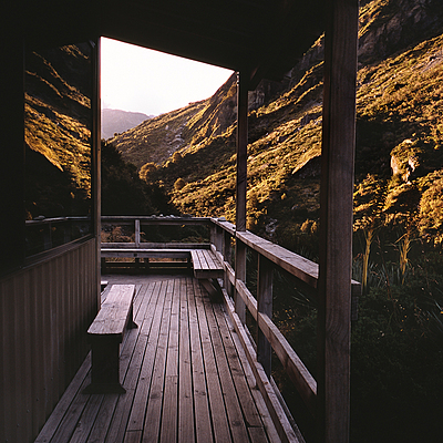 Rees Track Dart  River Hut. New Zealand. | LEICA ELMAR 24MM F3.8 ASPH <br> Click image for more details, Click <b>X</b> on top right of image to close