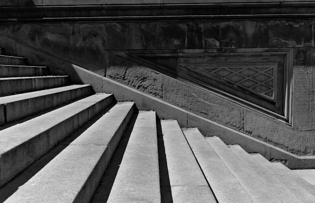 Bethesda Stairs #2 | ZEISS ZM BIOGON T* F2.0 35MM <br> Click image for more details, Click <b>X</b> on top right of image to close