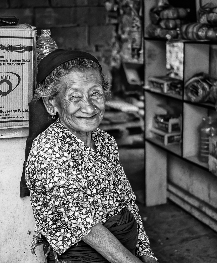 Hospitable Thakali Grandmother In Nepal | VOIGTLANDER 35MM / F 2.5 COLOR SKOPAR CLASSIC <br> Click image for more details, Click <b>X</b> on top right of image to close