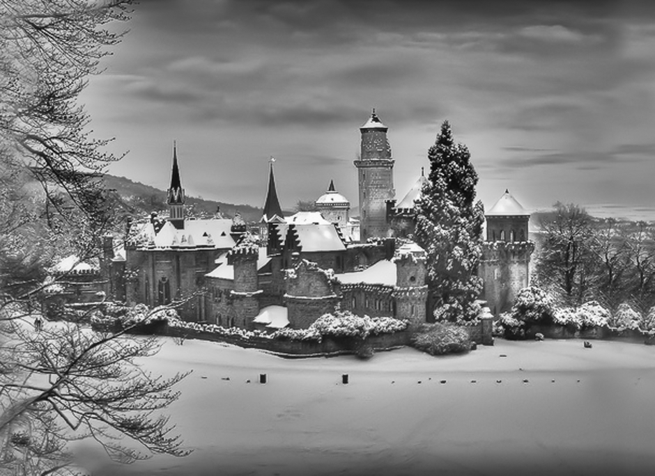 German Castle In Winter | ZEISS ZM C-BIOGON F2.8 35MM <br> Click image for more details, Click <b>X</b> on top right of image to close