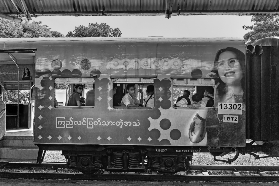 Myanmar Boxcar | ZEISS ZM C-BIOGON F2.8 35MM <br> Click image for more details, Click <b>X</b> on top right of image to close