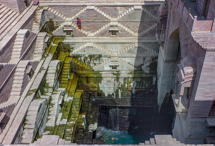 Birkha Bawari Stepwell | VOIGTLANDER 35MM / F 2.5 COLOR SKOPAR CLASSIC <br> Click image for more details, Click <b>X</b> on top right of image to close