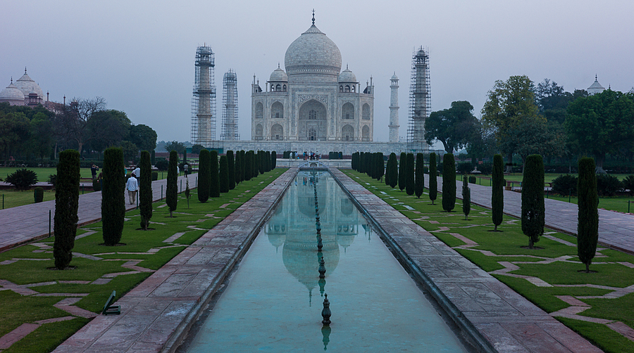 Taj Mahal Standing The Test of Time | ZEISS ZM C-BIOGON F2.8 35MM <br> Click image for more details, Click <b>X</b> on top right of image to close