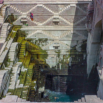 Birkha Bawari Stepwell | CV 35MM / F 2.5 COLOR SKOPAR CLASSIC <br> Click image for more details, Click <b>X</b> on top right of image to close