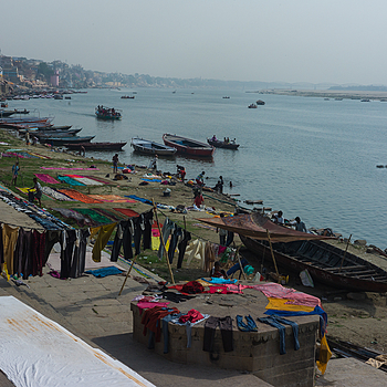 Life on the Ganges River | CV 35MM / F 2.5 COLOR SKOPAR CLASSIC